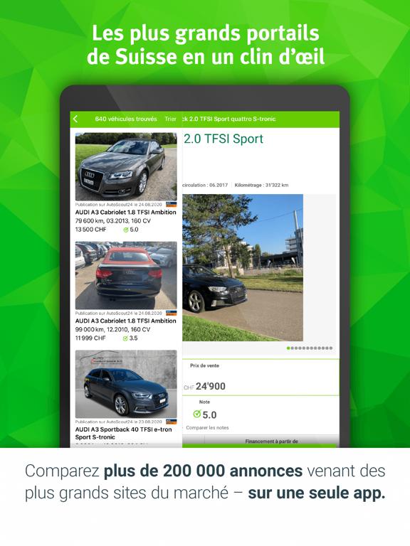 Screenshot #4 pour Espace automobile Comparis