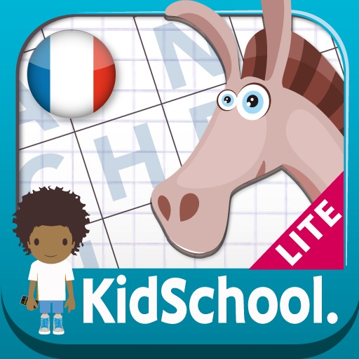 Kidschool : my first criss-cross puzzle in french LITE