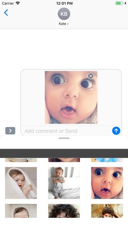 Cute Baby Emojis Stickers screenshot-3