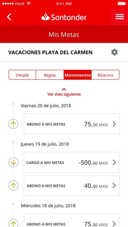 Santander móvil screenshot-3