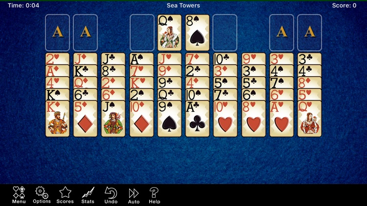 Sea Towers Solitaire Game screenshot-4