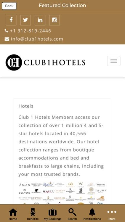 Club 1 Hotels screenshot-4