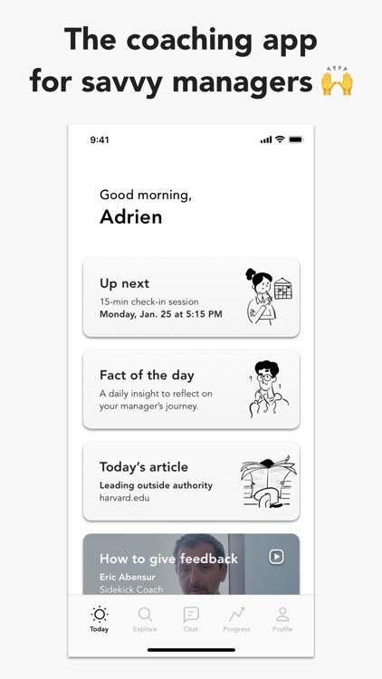 Sidekick - Coaching for Work