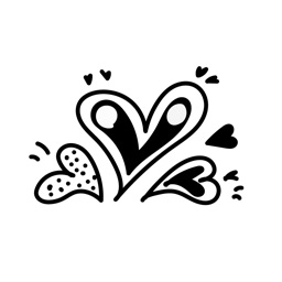 Love Lines Stickers