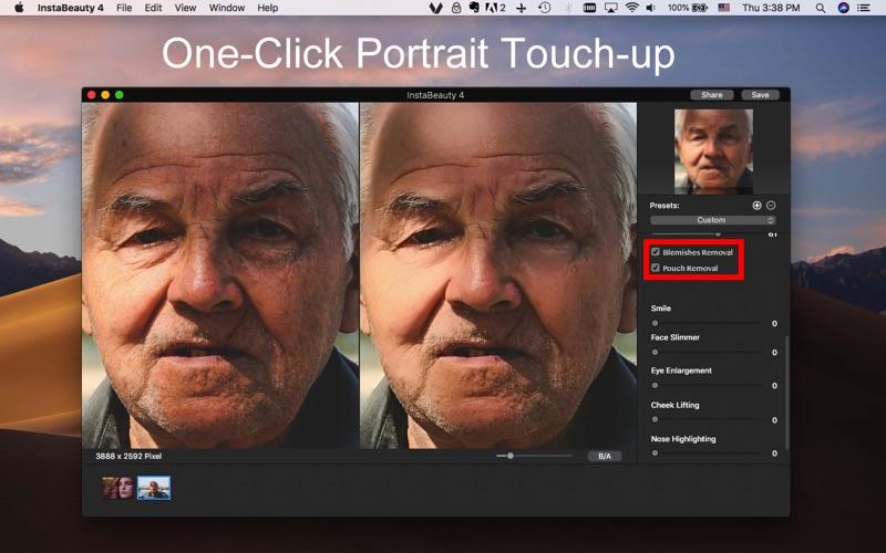 InstaBeauty 4 - Face Retouch screenshot 2