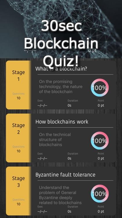 30s Quiz! Blockchain