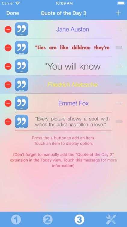 Quote of the Day Widget screenshot-4