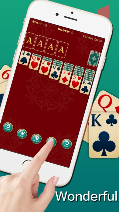 Screenshot for Solitaire ◆ in Russian Federation App Store