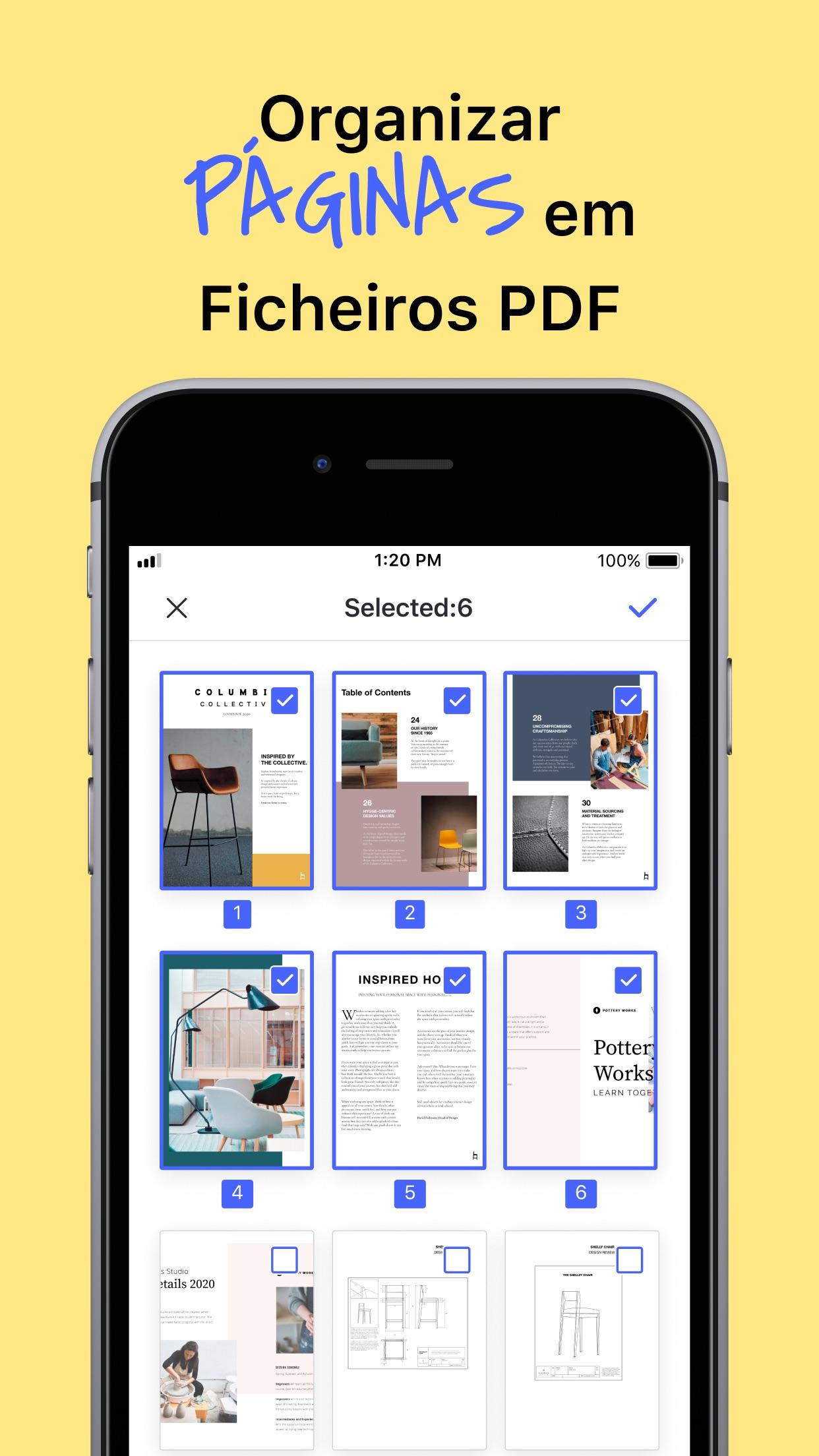 Screenshot do app PDFelement Pro - Editor de PDF