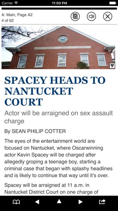 Boston Herald NIE E-Edition Screenshot