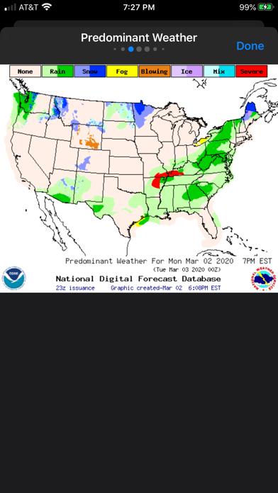 NOAA Weather Radio Screenshot