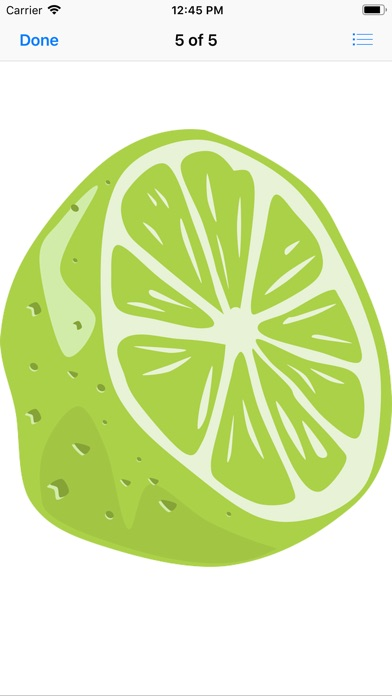 Screenshot for Lime Stickers in United States App Store