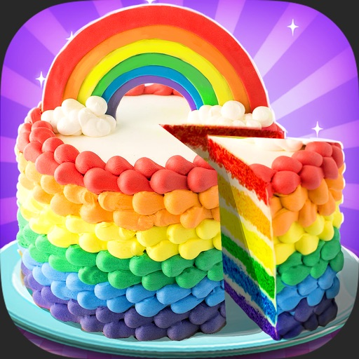 Rainbow Unicorn Cake Maker