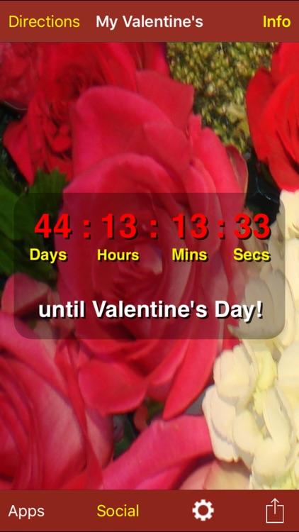 My Valentine's Day Countdown screenshot-4