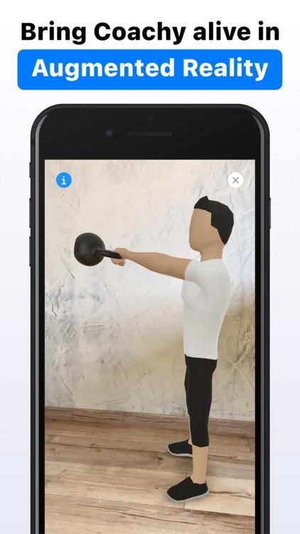 Coachy: Personal Trainer in AR screenshot-9