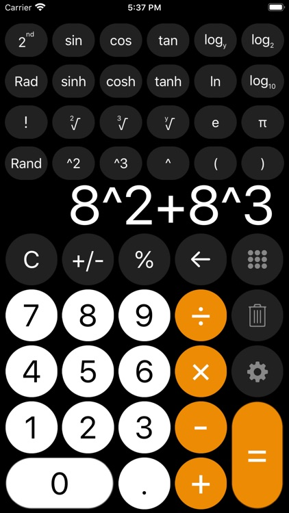 Calculator - with history tape screenshot-5