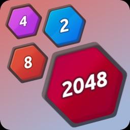 Number Merge 2048 Hexa Puzzle