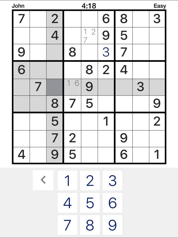 Pure Sudoku - the App screenshot