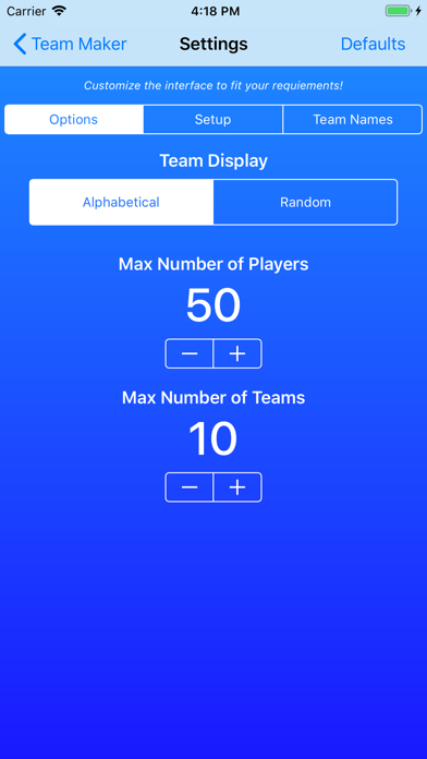 Team Maker Pro Screenshot 9