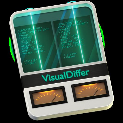 Icone VisualDiffer