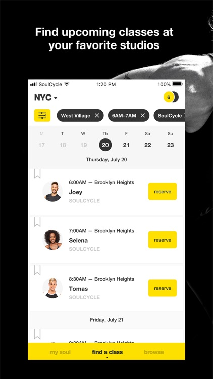 SoulCycle: Indoor Cycling screenshot-3