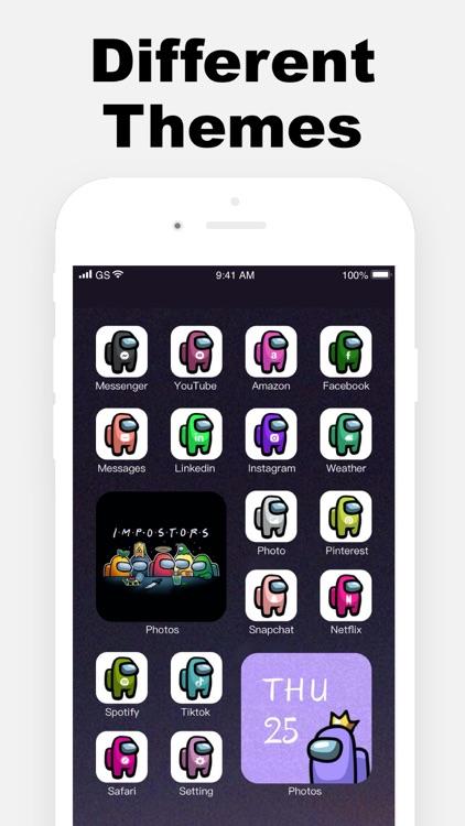 Argon - App Icons & Widgets screenshot-4