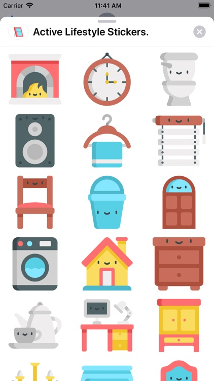 Home Living Stickers.