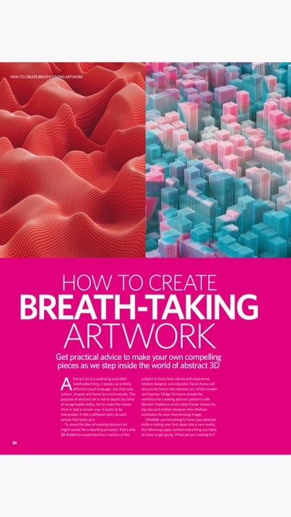 3D Artist Magazine: CG skills screenshot-5