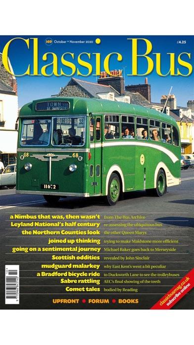 Classic Bus MagazineScreenshot of 1