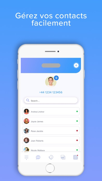 download RingMe | Colorez appels et SMS apps 4