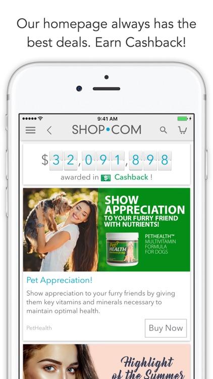 SHOP.COM Mobile -Earn Cashback