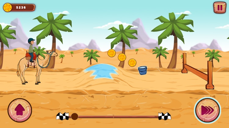 Funny Ranch Racing screenshot-5