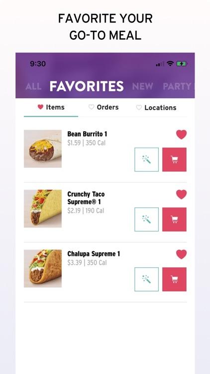 Taco Bell - Food & Rewards screenshot-5