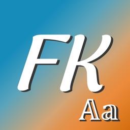 Fonts Keyboard - Cool Fonts AA