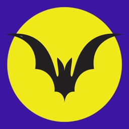 Bat on the Moon stickers emoji
