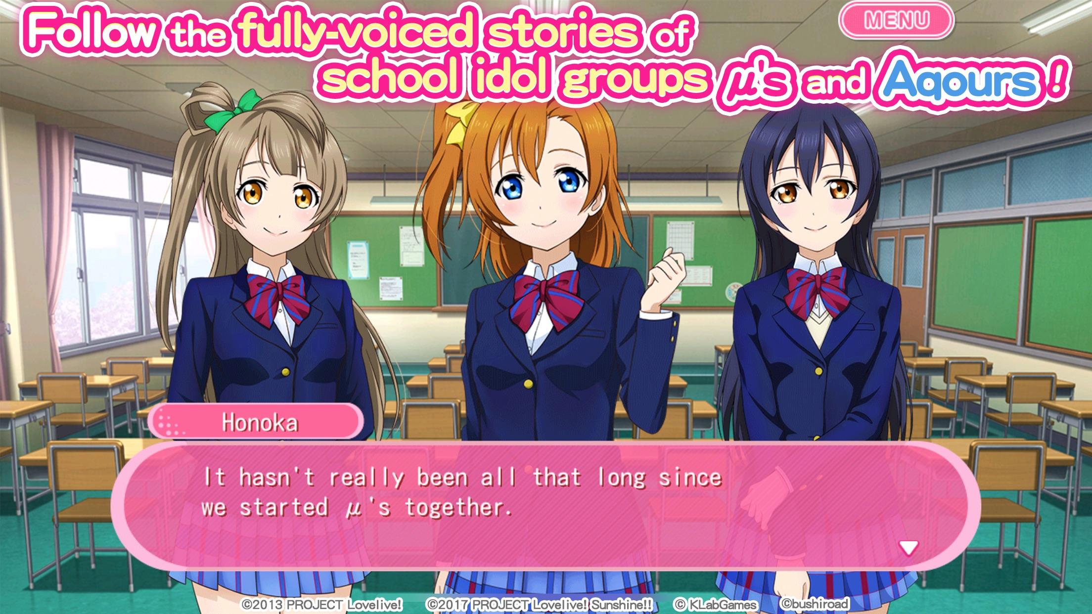 Love Live!School idol festival Screenshot