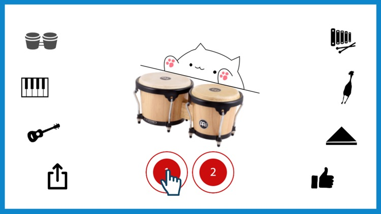 Bongo Cat Musical Instruments
