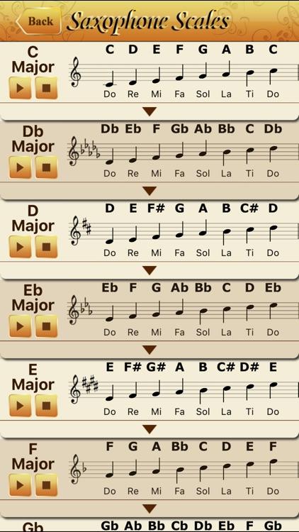 Saxophone All-in-one screenshot-3