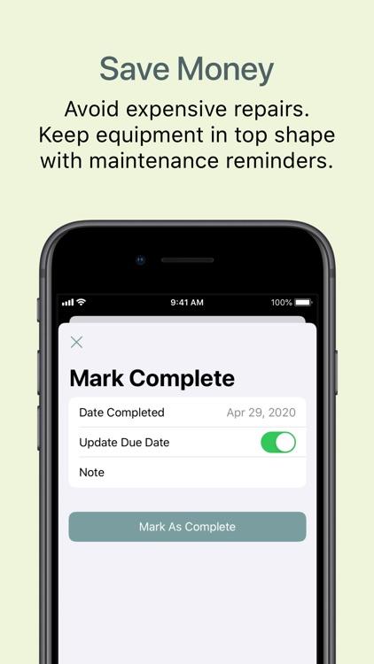 Directive - Maintenance App screenshot-3
