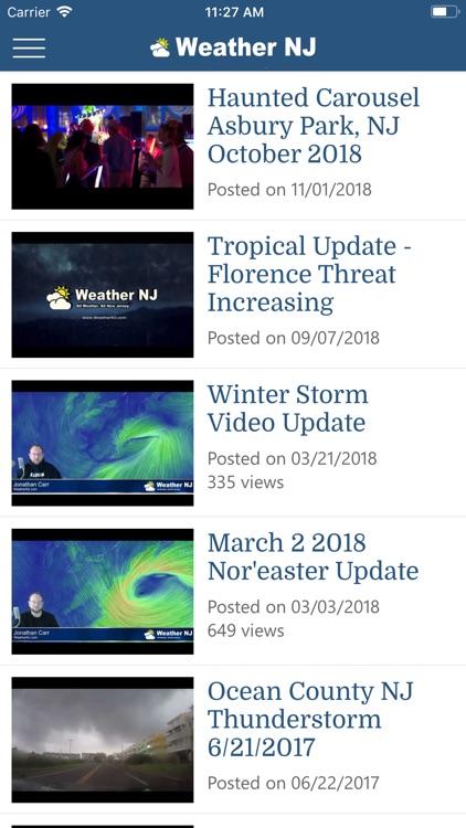 Weather NJ LLC screenshot-3