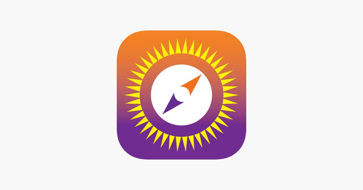 55072f22b00b Sun Seeker Sun Tracker Compass on the App Store