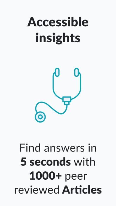 AMBOSS Medical Knowledge USMLEScreenshot of 1