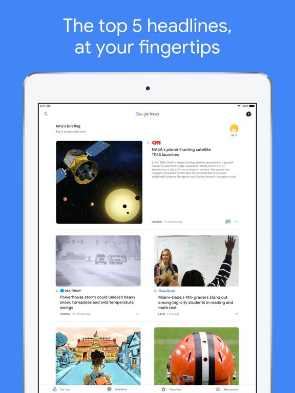 Google News-ipad-0