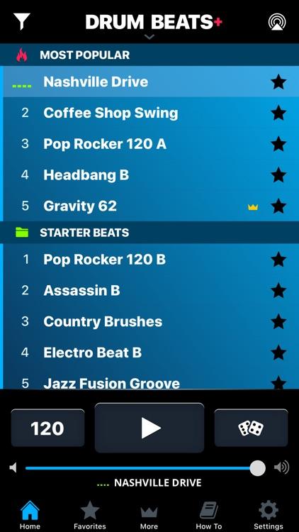 Drum Beats+ Rhythm Machine screenshot-0
