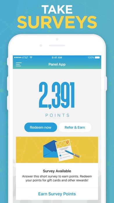 Panel App - Prizes & Rewards screenshot three