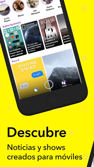 Screenshot for Snapchat in Mexico App Store