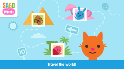 Sago Mini Road Trip Screenshot