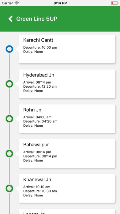 Screenshot for Pak Rail Live in Malaysia App Store