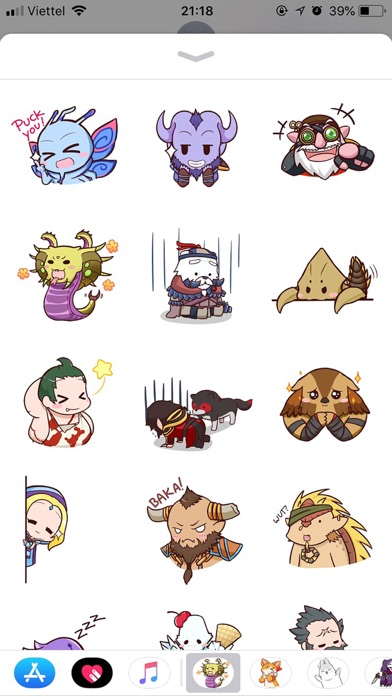 Dota Pun Emoji Funny Stickers screenshot 1