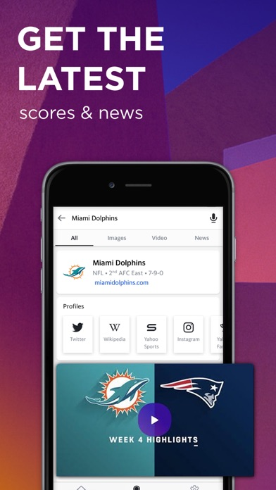 Screenshot for Yahoo Search in United States App Store
